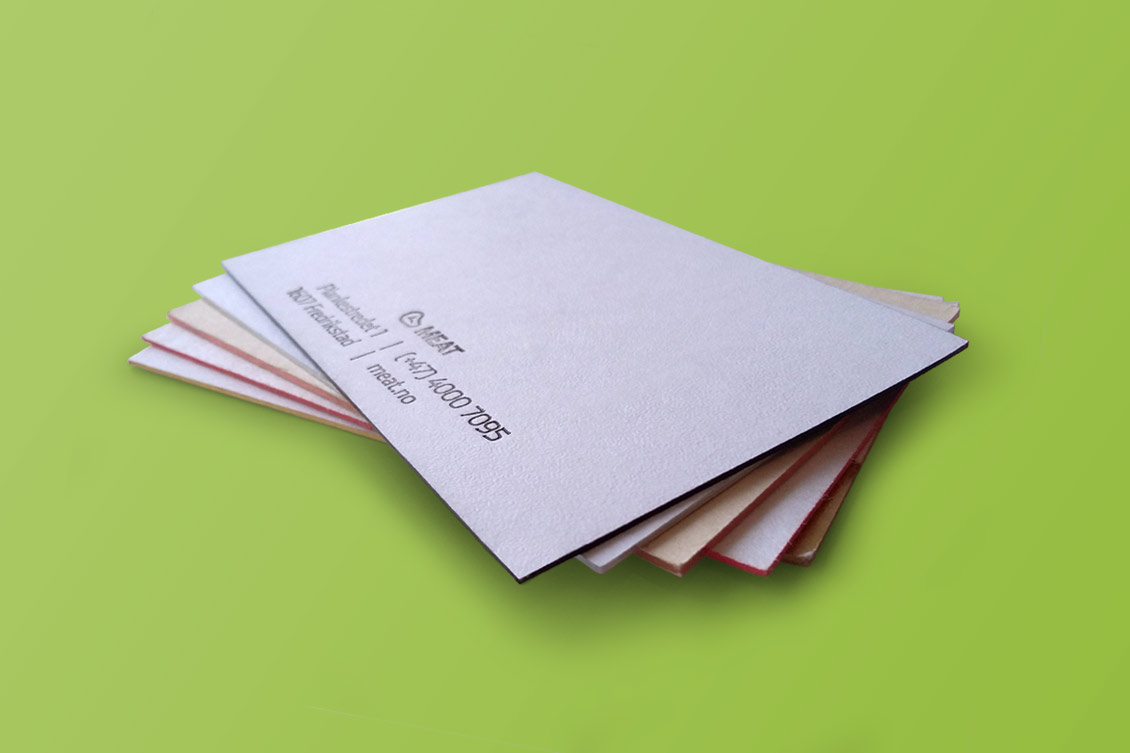 Cartes De Visite En Coton