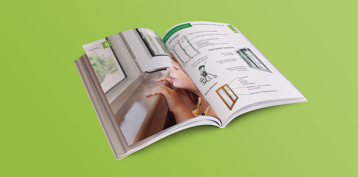 Design graphique brochure