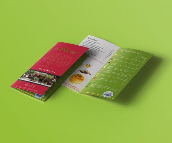 le-chene-vert-menu-mockup