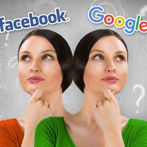 Publicité sur Google Ads et Facebook : Que choisir !?