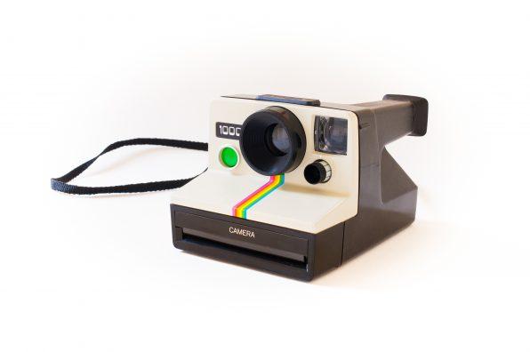 Classic instant film camera