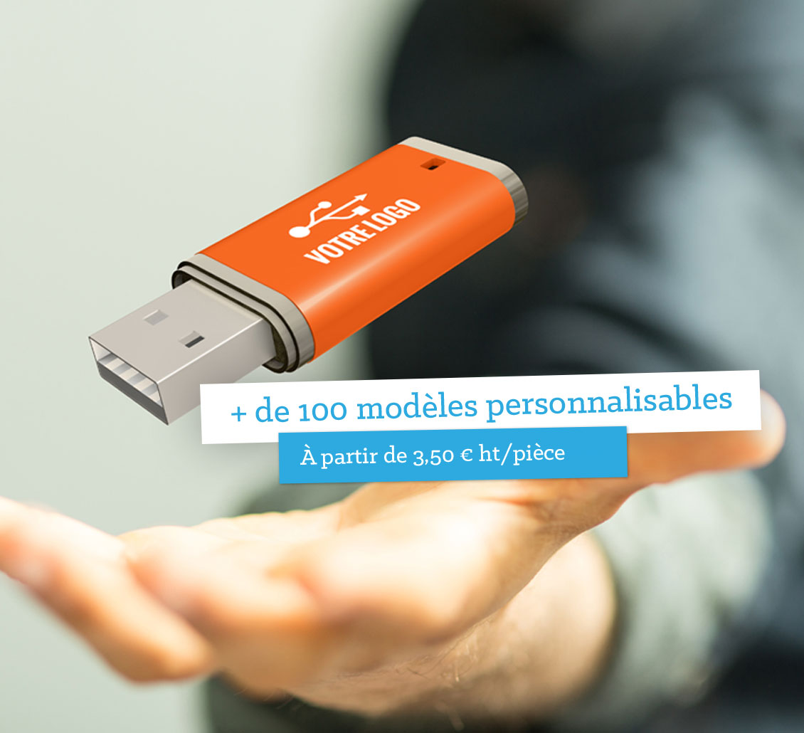 Clés USB personnalisées