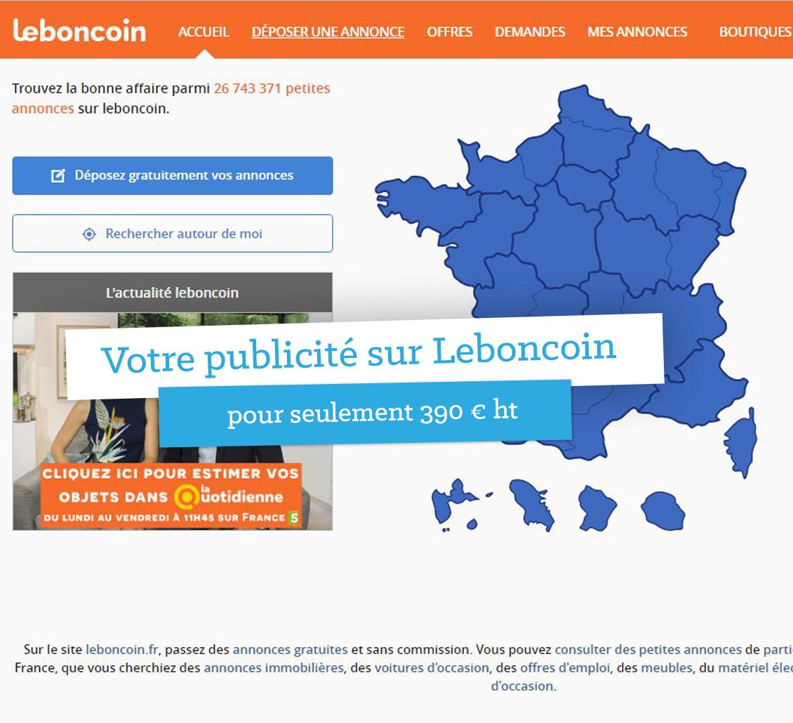 Publicité LeBonCoin.fr