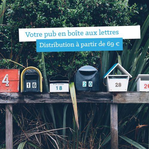 La distribution en boîtes aux lettres