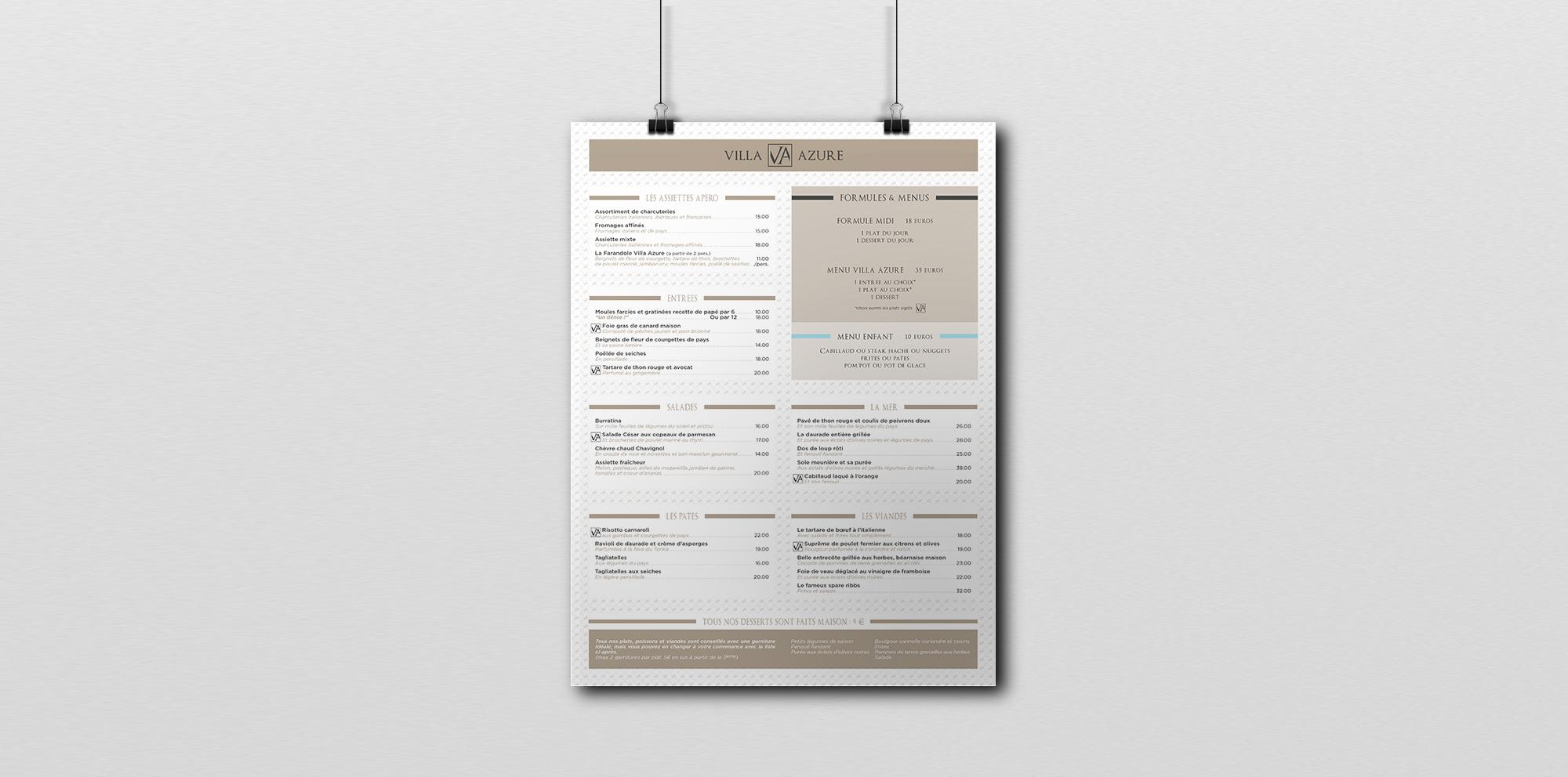 Poster-Villa-Azure